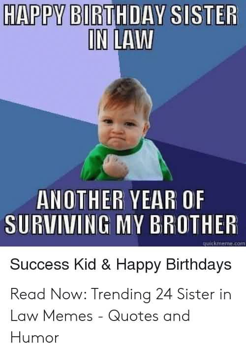 Brother In Law Meme : brother, Funny, Happy, Birthday, Sister, Photos, Brother, Sister,