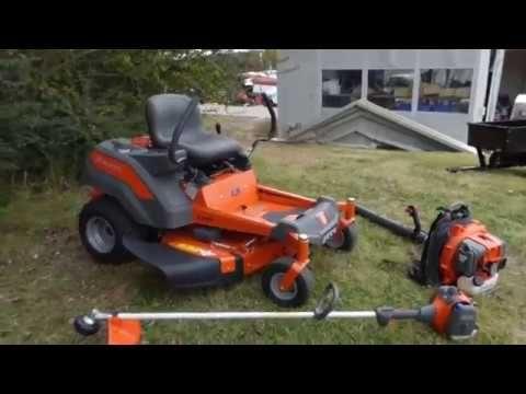 Husqvarna Z242f Zero Turn Mower 129l 130bt Package Deal Spring Promotion Zero Turn Mowers Mower Husqvarna