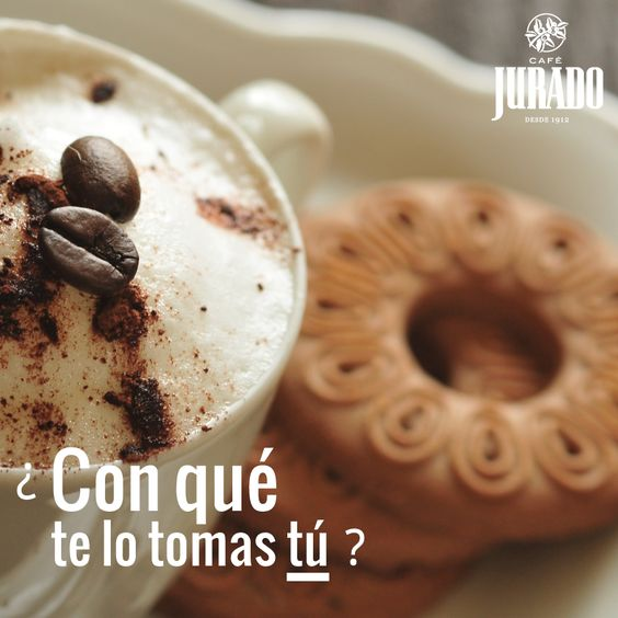 Con una onza de chocolate, con un trocito de bizcocho o tarta, con una galletita.... hay tantas formas de disfrutar un buen #café que seguro que cada día será diferente