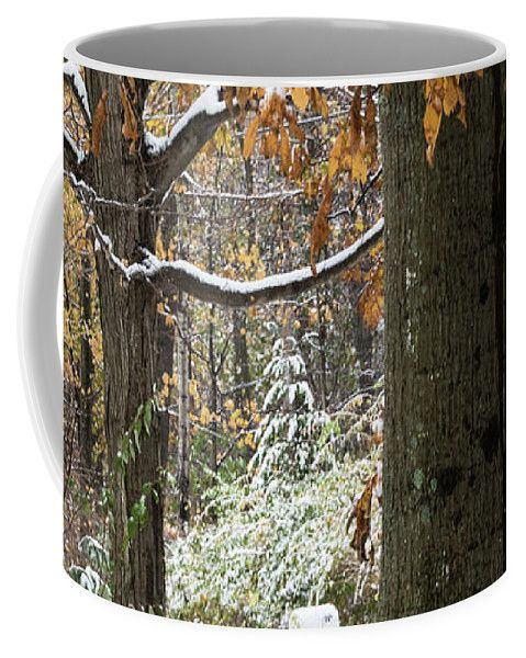 Autumn Colors Coffee Mug featuring the photograph Too Soon by Julie Weber