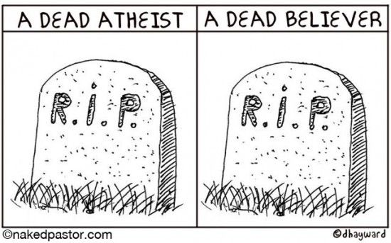 Is it okay for an atheist to say