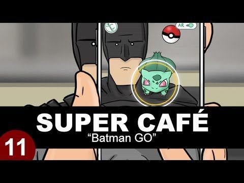 [HUMOR] Super Cafe: Batman GO