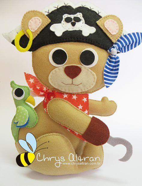 urso  pirata
