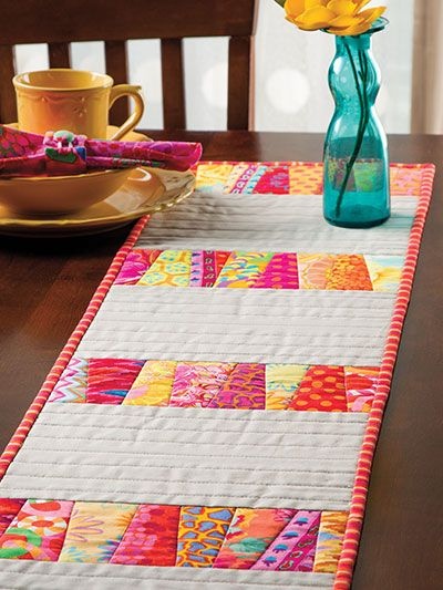 One of 10 quilt projects featured in Annie's NEW Stack, Slash & Sash Quilting. Order here (download or print): http://www.anniescatalog.com/detail.html?prod_id=107038&cat_id=467
