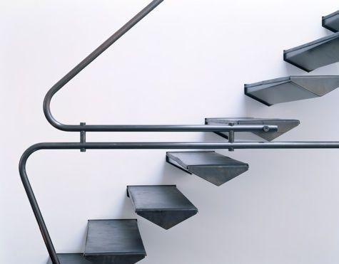 Stairs: handrail detail.