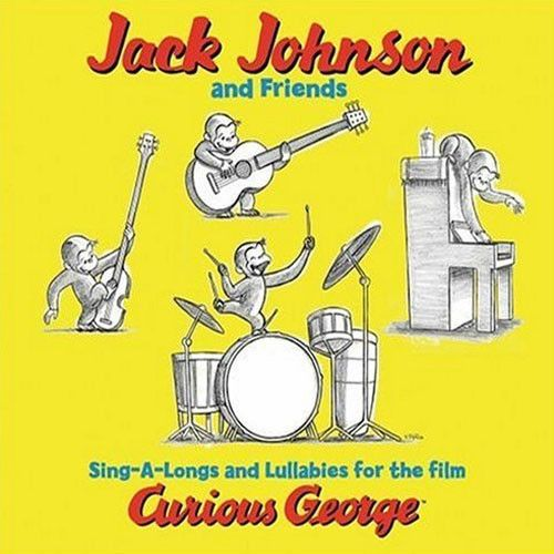 Jack Johnson & Friends - Sing-A-Longs And Lullabies For The Film Curious George LP