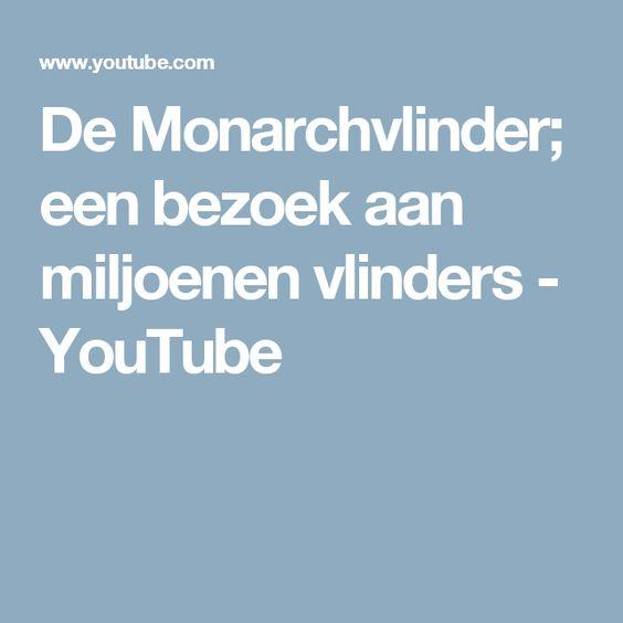 De Monarchvlinder; een bezoek aan miljoenen vlinders - YouTube