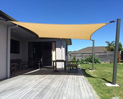 Sun Shade Sail Installation Ideas 9