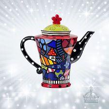 "Teekanne Romero BRITTO 1,2 L "" Teapot Home  ""  Pop Art Kanne Kunst Krug B339011"