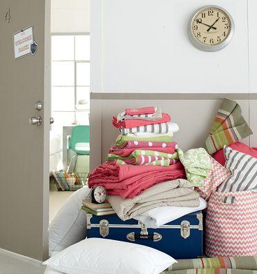 Dorm Room Essentials at Garnet Hill