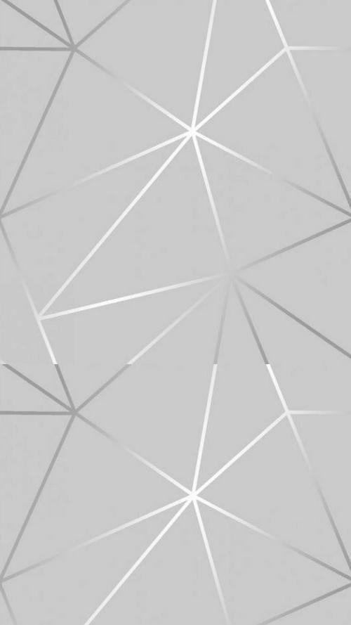 Lock Screen Wallpaper Metallic Wallpaper Geometric Wallpaper Iphone Silver Wallpaper