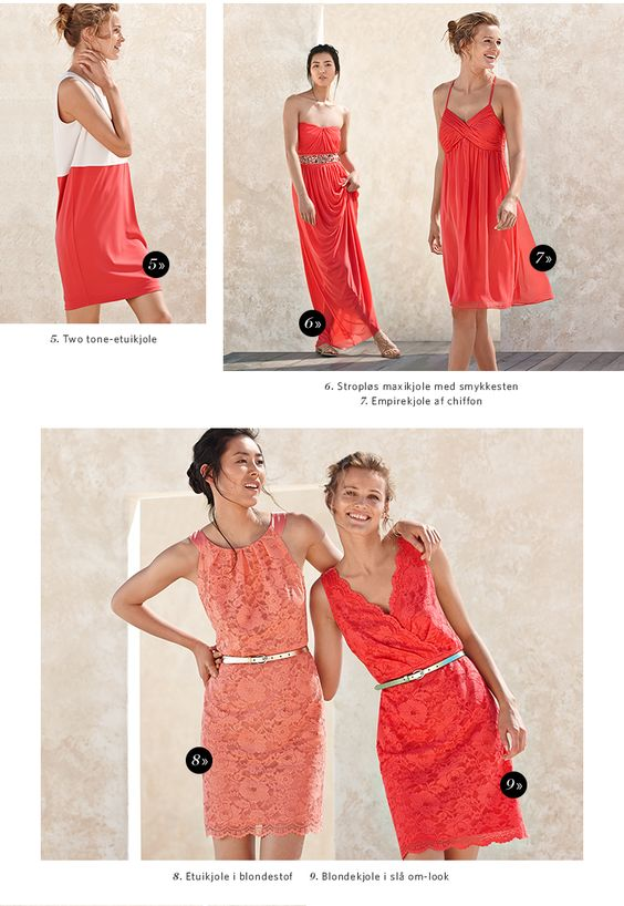 Den nederste kjole til højre. Kjole til bryllup