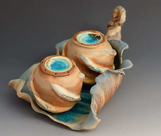 Sea Side Pair- Seasoning Set  Catherine Rehbein. Absolutely love these!!!