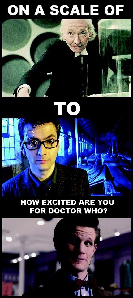 If you don't understand your whovian license is being taken away YES I AM THAT EXCITED