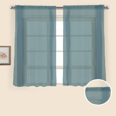 Charlton Home Forrester Curtain Panels Size: 54