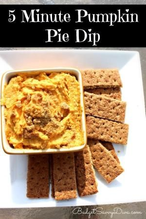 Perfect Dip for Fall! Done in 5 minutes flat! by evangelina