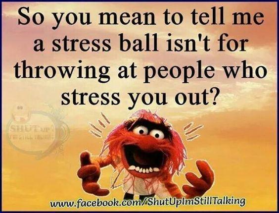 Stress lol