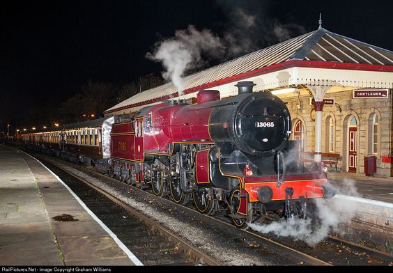 RailPictures.Net Photo: 13065 London Midland and Scottish Railway Steam 2-6-0 at Ramsbottom, United Kingdom by Graham Williams