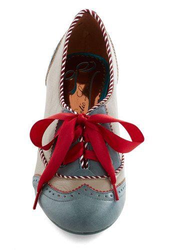 Poetic License Shoeful of Sugar Heel   Mod Retro Vintage Heels   ModCloth.com