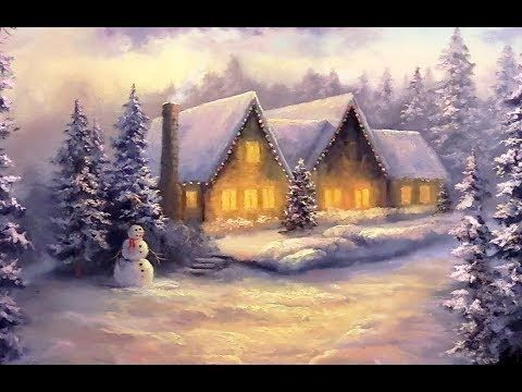 Painting A Winter Wonderland Landscape With Acrylics Lesson 1 Youtube Winter Painting Landscape Paintings Kevin Hill Paintings