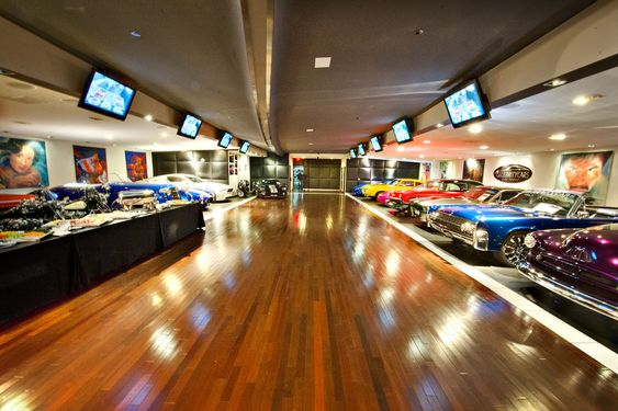 Celebrity cars showroom at palazzo hotel