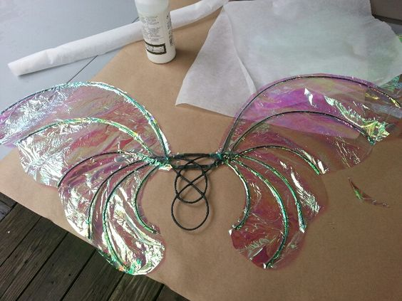 Here is my very first pair of wings, completed this morning! I used the Faerie Muse tutorial as my guide; she gives excellent details, though I admit I skimmed through some parts. Notes: 1. I'm a perfectionist, so I put this off for a long time. How long? Years. Every time I saw a web ...
