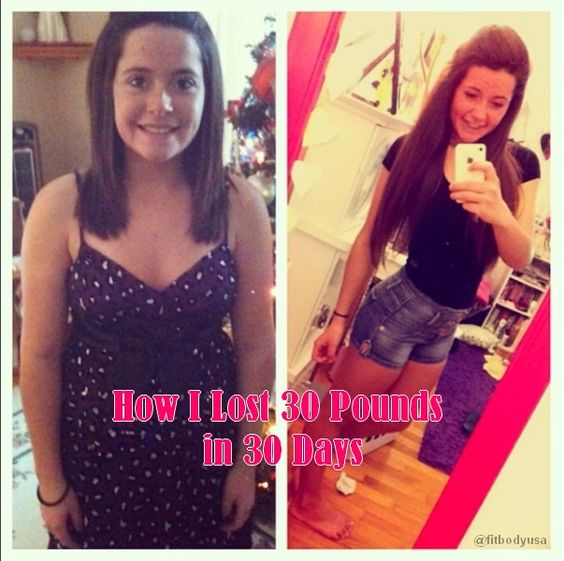 How I Lost 30 Pounds in 30 Days #LosingWeight