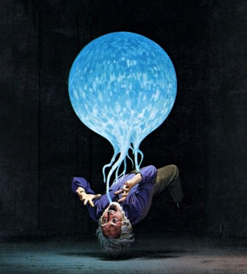 Ralph McQuarrie - Sinister Barrier, 1986.