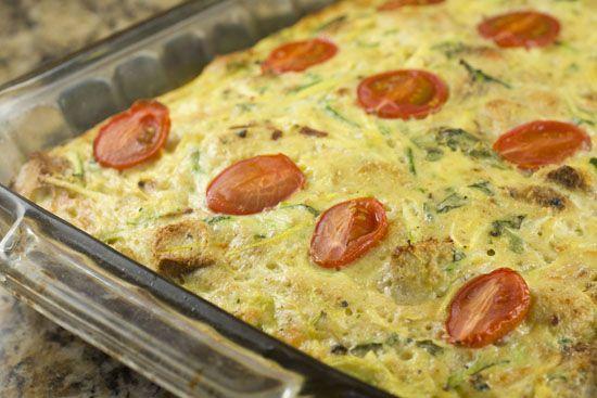 Shredded zuke/squash casserole