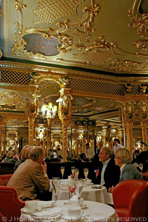 Luxury Afternoon Tea At The Caf Royal Hotels Oscar Wilde Bar