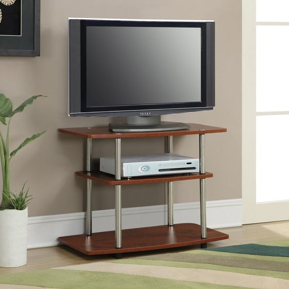 Convenience Concepts Designs2Go 3 Tier TV Stand - 131020