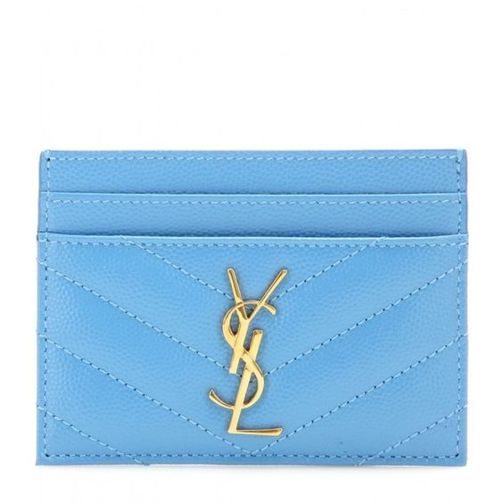 vogue replica handbags - Saint Laurent Monogram Quilted Leather Card Holder ($190) ? liked ...
