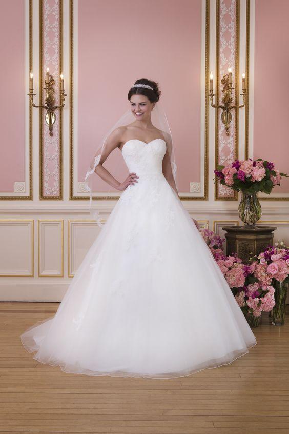 Brautkleid Sweetheart Style 6035 Tüll Prinzessin