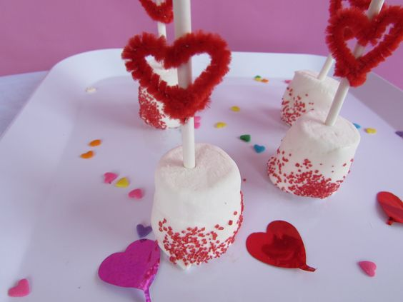 I am all about the hearts right now! I got some red pipe cleaners and have found so many fun things you can do with them to decorate! They are easy to shape into hearts and look really cute wrapped around paper straws. I also made a cute little love bug headband. Wouldn't really stay …Read more...