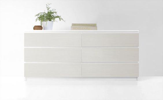 PANYL for IKEA MALM Dresser | PANYL self-adhesive furniture finishes