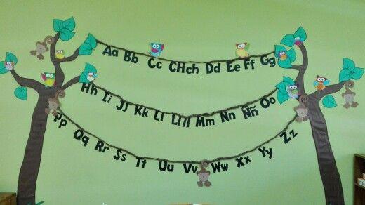 Alfabeto en el aula