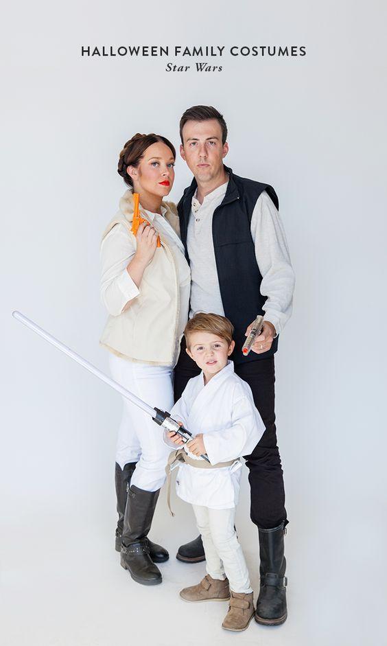 Halloween Family Costumes: Star Wars