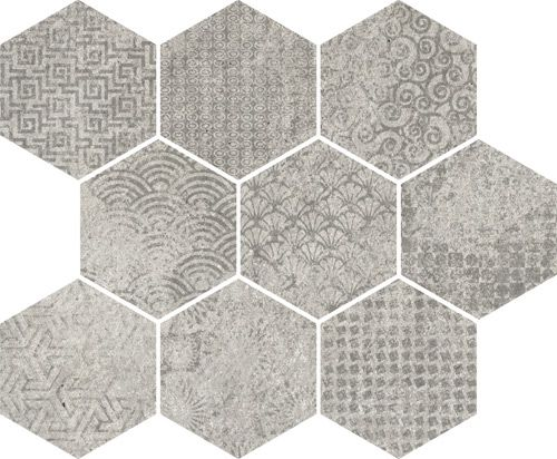 Raw sp gris 33x27cm floor tiles porcelain vives for Azulejos vives
