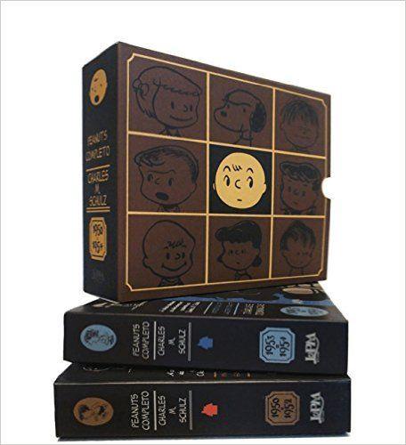 Peanuts Completo. 1950 a 1954 - Caixa Especial. 2 Volumes - Livros na Amazon.com.br