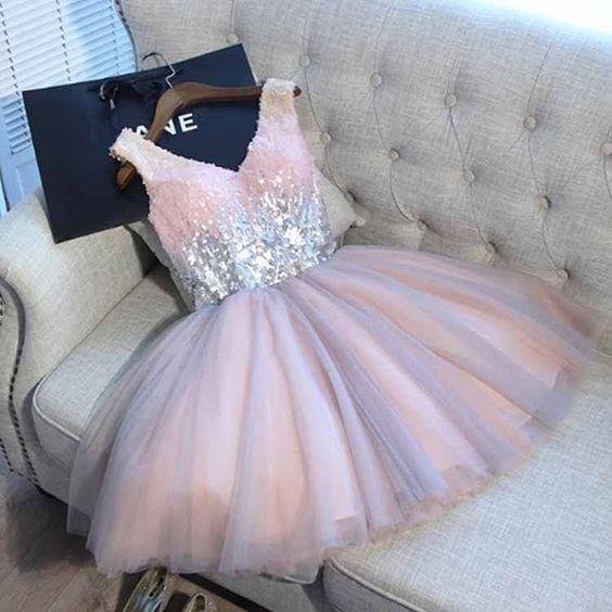 Vestidos de xv años color rosa pastel