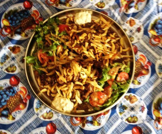 Salade Tomate Oignon Poulet de la korité