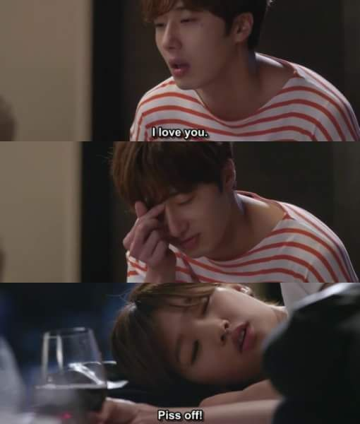 I love this scene its hands down the best part of the whole drama so far I laughed my ass off #CinderellaAndFourKnights very true even my boyfriend liked this scene