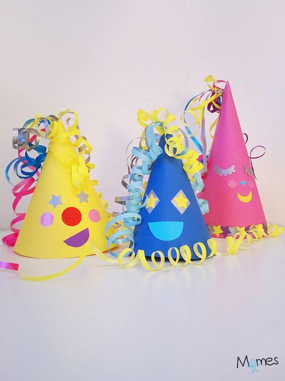 Fabriquer des petits chapeaux de f te - Idee pour le carnaval ...