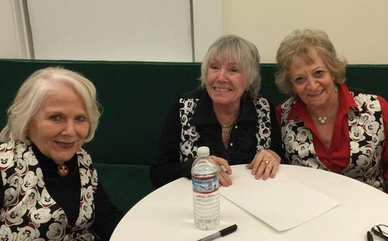 Karen Pendleton, Darlene Gillespie and Sharon Baird