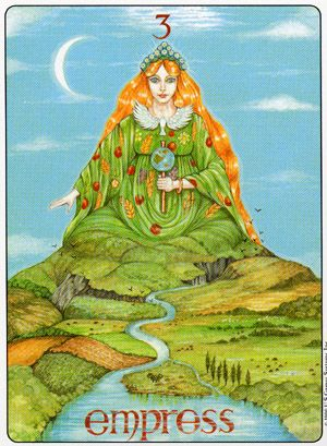 The Empress - Gill Tarot