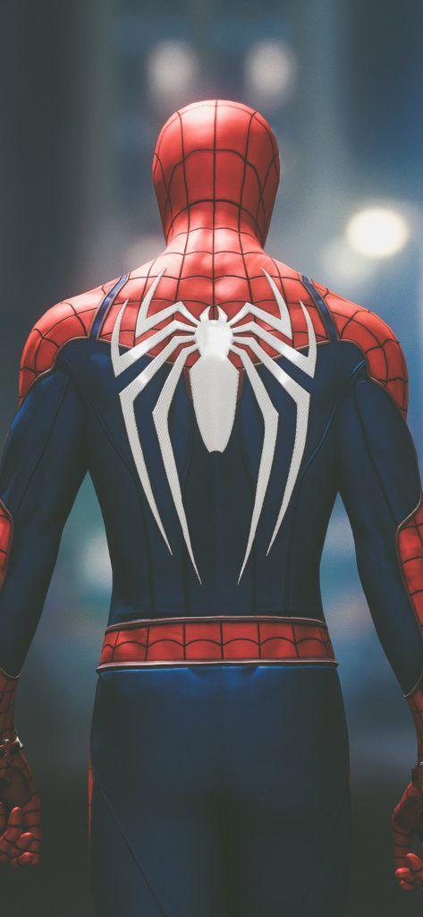 Iphone X Wallpaper Screensaver Background 184 Spiderman 4k Ultra
