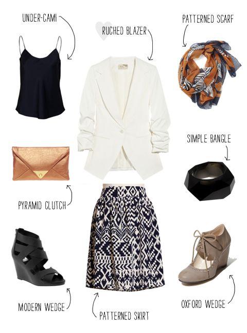 interview attire for a fashion forward individual
