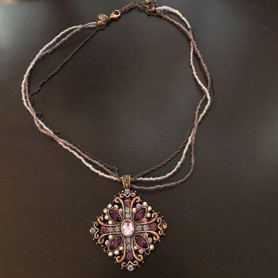 Lia Sophia necklace Beautiful purple hues Lia Sophia Jewelry Necklaces