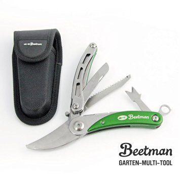 BEETMAN Garten Multitool Taschenmesser Multifunktionswerkzeug hochwertige…