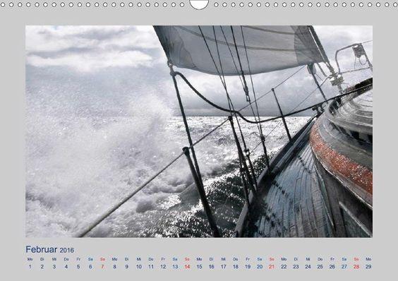 Kalender: Maritimes & Meer von Carina-Fotografie - CALVENDO.de Segelschiff (Vindö) auf der Ostsee
